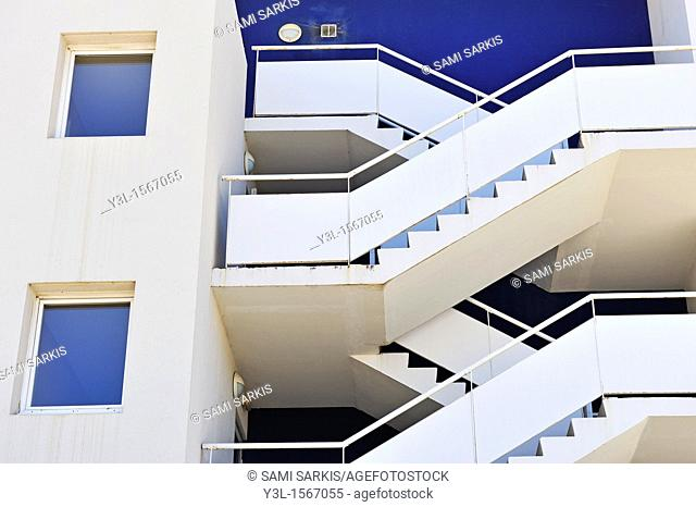 Building staircase, outdoor
