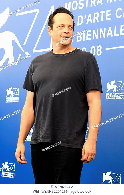 Photocall for 'Brawl in Cell Block 99' during the 74th Venice Film Festival in Venice, Italy. Featuring: Vince Vaughn Where: Venice, Veneto