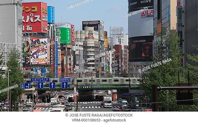 Japan , Tokyo City , Shinjuku District, west shinjuku , Shinjuku Avenue