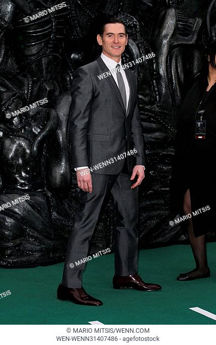 The World Premiere of 'Alien: Covenant' held at the Odeon Leicester Square - Arrivals Featuring: Billy Crudup Where: London