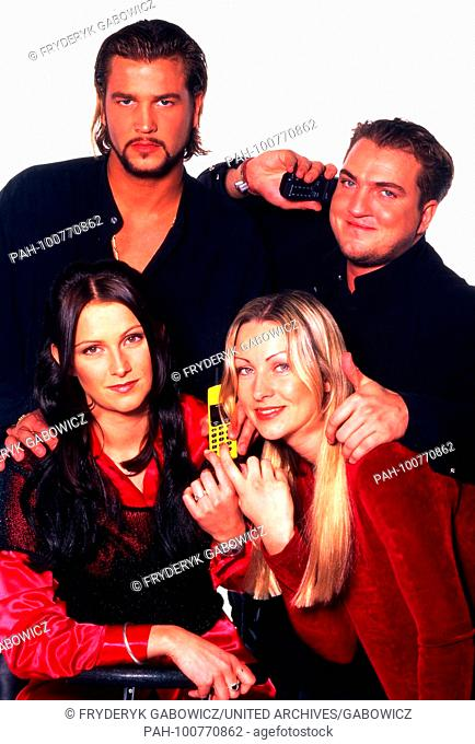 """""""""""Ace of Base"""", schwedische Popgruppe, beim Fotoshooting in Düsseldorf, Deutschland 1995. Swedish pop group """"Ace of Base"""" during a studio photo shoot at..."