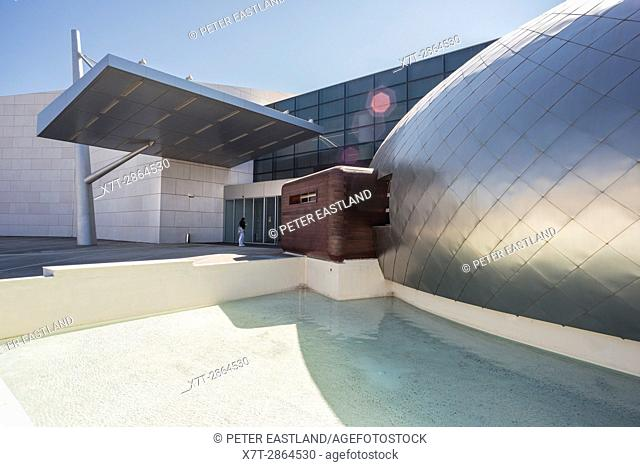 The New Archaeological Museum, designed by Theofanis Bobotis. The second largest in Greece, at Patras, Achaea, Peloponnese, Greece