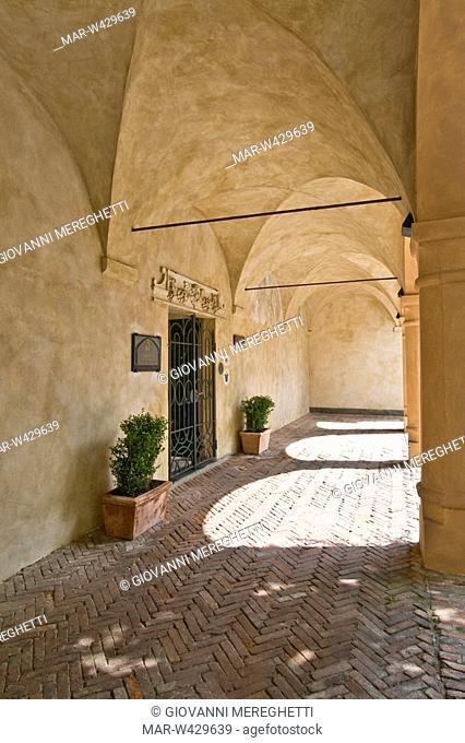 abbazia di san giorgio, moneglia, liguria, italia