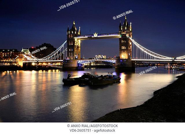 United Kingdom (Great Britain). England. London. Tower Bridge (Tower Bridge)