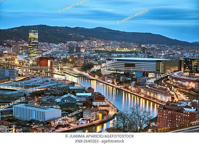 Bilbao, Biscay, Basque Country, Euskadi, Spain, Europe