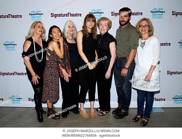 Opening night party for the play John at the Signature Theatre - Arrivals. Featuring: Hong Chau, Lois Smith, Annie Baker, Georgia Engel, Christopher Abbott