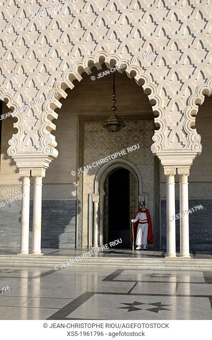 Mausoleum of Mohamed V, Rabat, Morocco