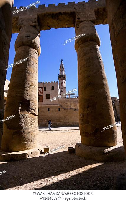 Temple of Luxor, Luxor city, Egypt