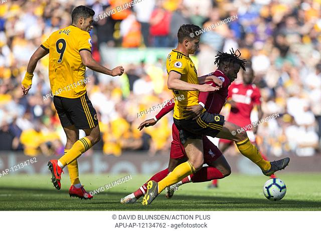 2019 EPL Premier League Football Liverpool v Wolves May 12th. 12th May 2019, Anfield, Liverpool, England; EPL Premier League football