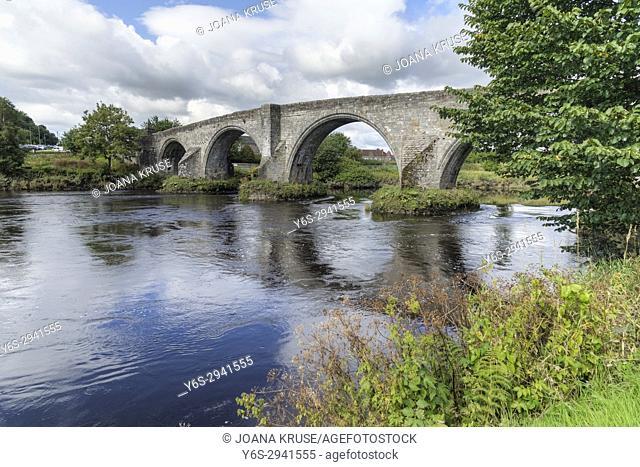 The Auld Brig, Stirling, Falkirk, Scotland, United Kingdom