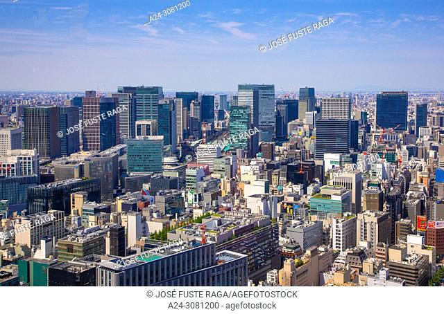 Japan, Tokyo City, Ginza and Tokyo Station area