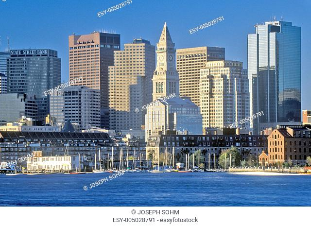 Skyline of Boston, Massachusetts