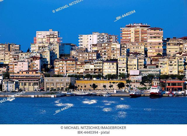 Cityscape, Sarandë, Vlorë County, Albania