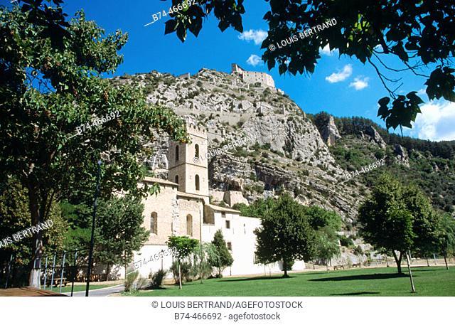 Entrevaux. Alpes-de-Haute-Provence, France