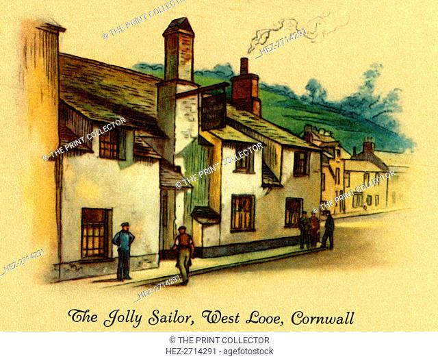 'The Jolly Sailor, West Looe, Cornwall', 1939. Creator: Unknown