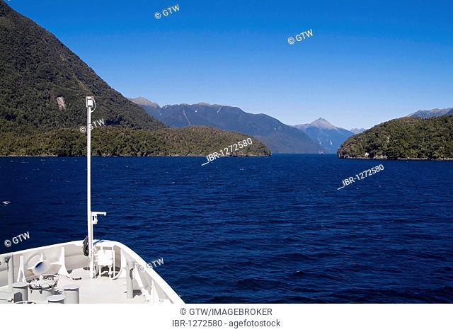 Fjordland National Park, Doubtful Sound, South Island, New Zealand