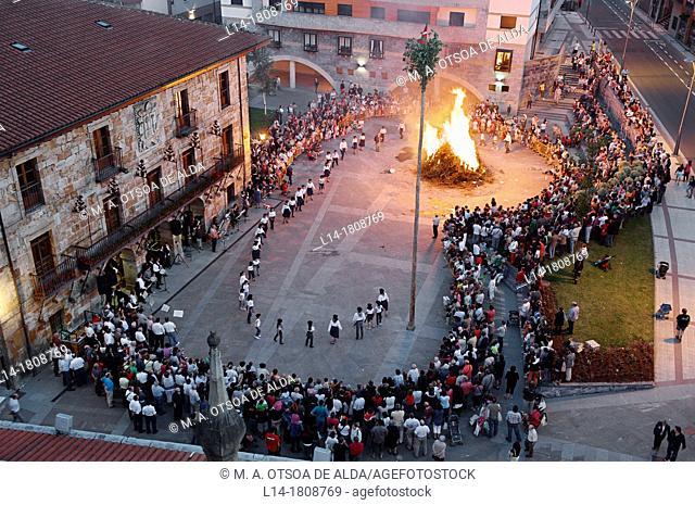 St. John's Eve, Legazpi (Legazpia), Gipuzkoa, Basque Country, Spain