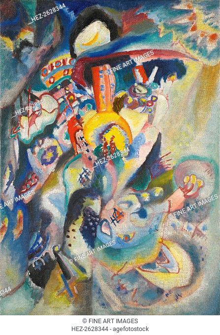 Moscow II, 1916. Artist: Kandinsky, Wassily Vasilyevich (1866-1944)