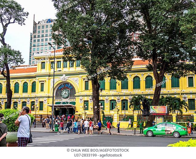 Vietnam, Ho Chi Minh City, Saigon, Main Post Office