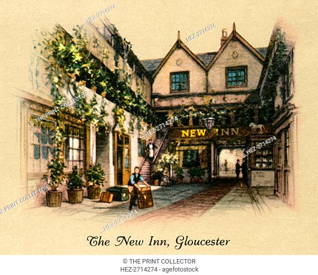 'The New Inn, Gloucester', 1936. Creator: Unknown