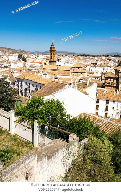 Monumental city of Antequera. Málaga province. Andalusia, Southern Spain Europe