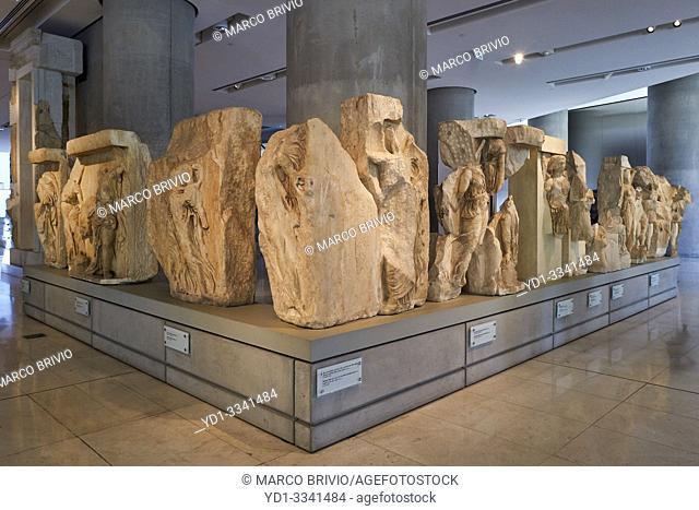 Athens Greece. The Acropolis Museum