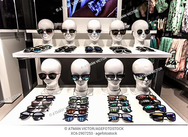 sunglasses shop window