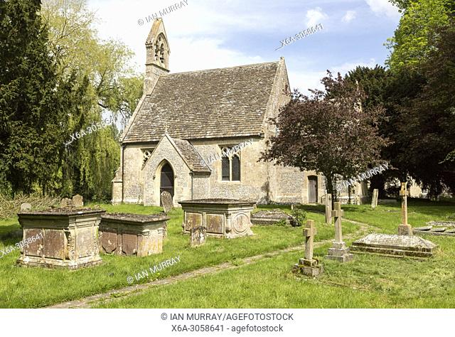 Village parish church of St Stephen, Beechingstoke, Vale of Pewsey, Wiltshire, England, UK