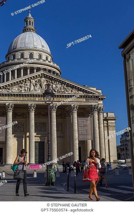THE PANTHEON, SITUATED ON PLACE DU PANTHEON ON THE SAINTE-GENEVIEVE MOUNTAIN IN THE HEART OF THE LATIN QUARTER. IT HONOURS ILLUSTRIOUS PEOPLE WHO HAVE MARKED...