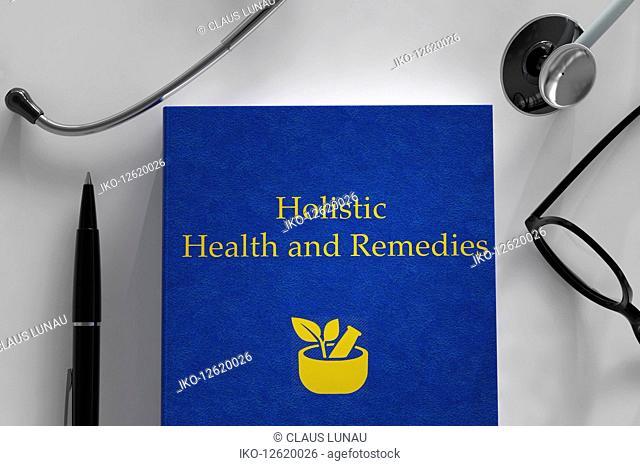 Medical book about holistic medicine