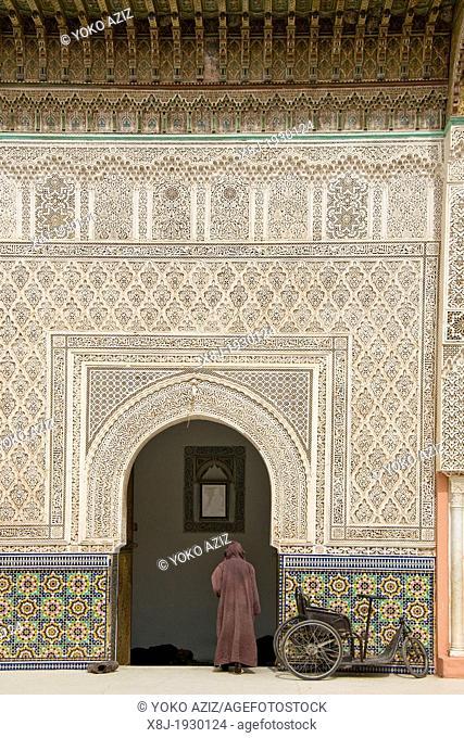 Morocco, Marrakech, old mosque