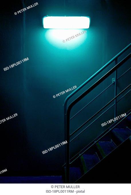 Light by steps