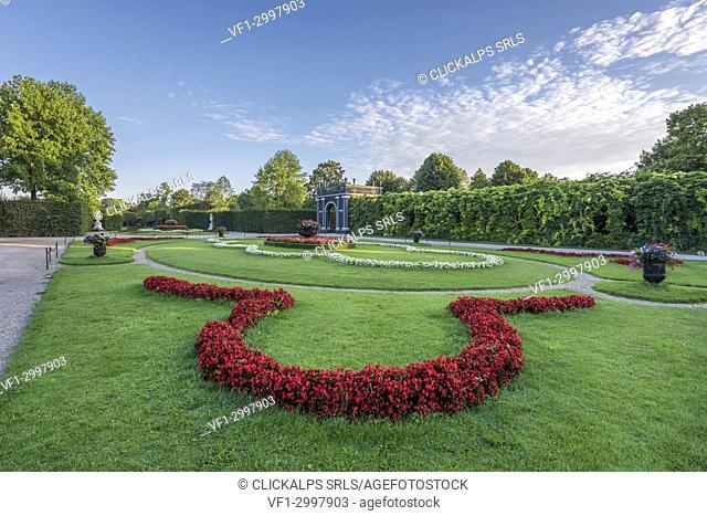 Vienna, Austria, Europe. The Kammergarden of Schönbrunn Palace