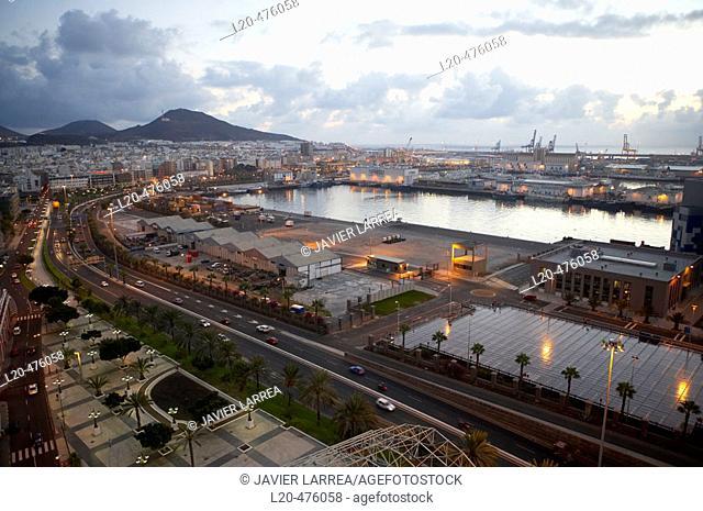 Puerto de la Luz, Las Palmas, Grand Canary, Canary Islands