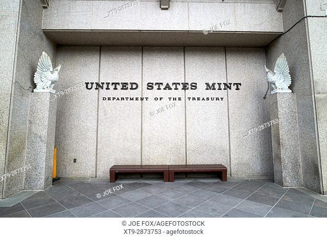 United states mint building Philadelphia USA