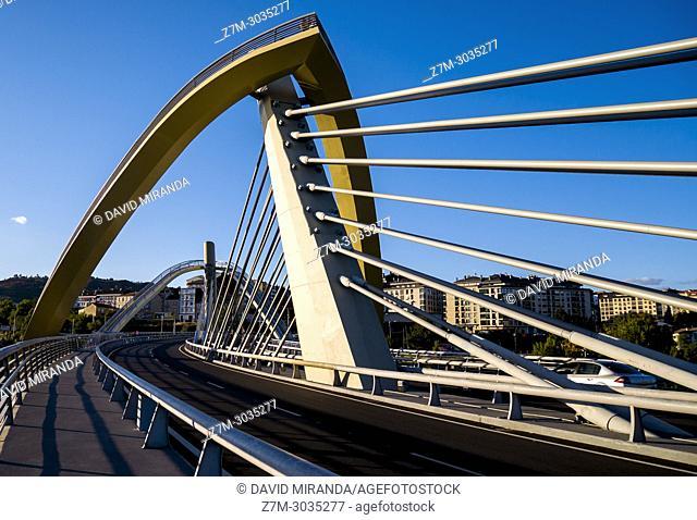 Puente del Milenio. Ourense. Galicia. Spain