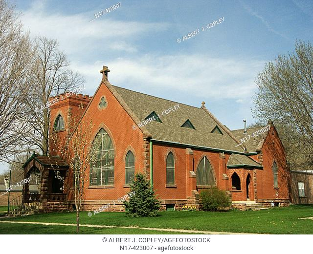 Church, central United States