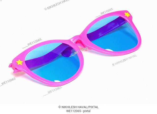 Large toy plastic sunglasses