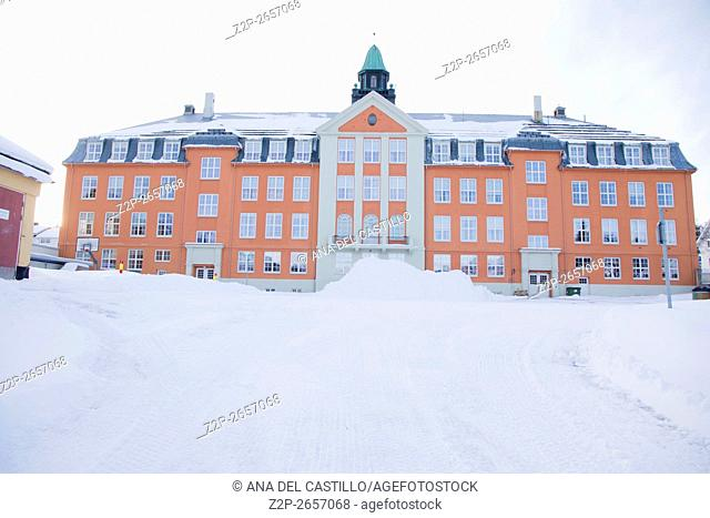 Tromso is a city and municipality in Troms county, Norway. The conservatory building