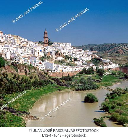 Montoro and Guadalquivir River, Córdoba province, Spain