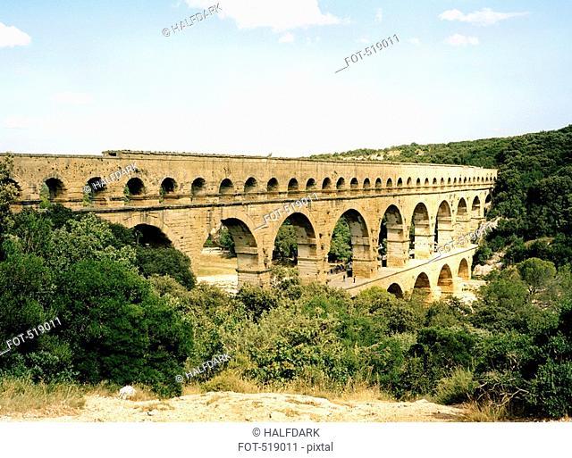 Pont du Gard, Roussillon, Languedoc, France