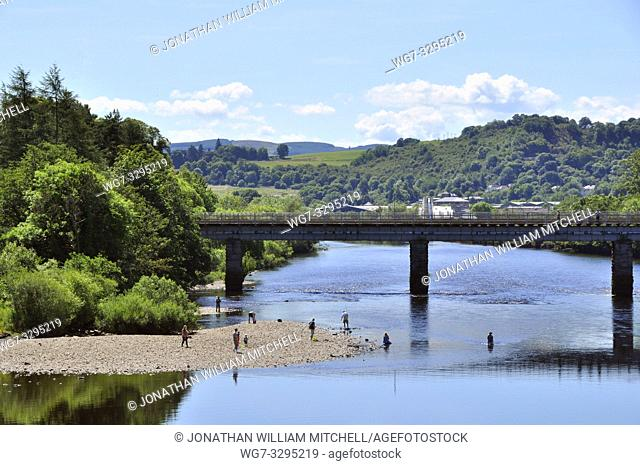 SCOTLAND Perth -- 2014 -- The River Tay at Perth Scotland -- Picture by Jonathan Mitchell/Atlas Photo Archive