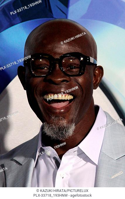 """Djimon Hounsou 12/12/2018 """"""""Aquaman"""""""" Premiere held at the TCL Chinese Theatre in Hollywood, CA Photo by Kazuki Hirata / HNW / PictureLux"""