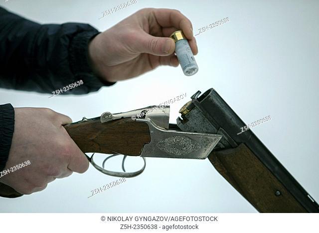 Hotnichego loading rifle