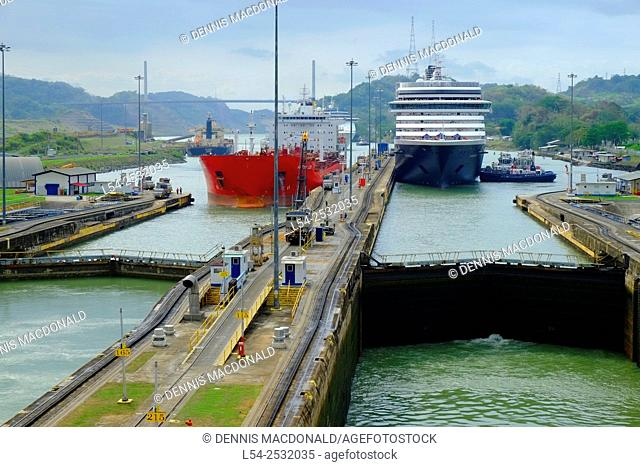 Miraflores Locks Panama Canal Central America