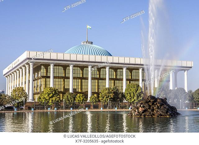The Senate of the Oliy Majlis, upper chamber of the Parliament of Uzbekistan, Navoi Park, Tashkent, Uzbekistan
