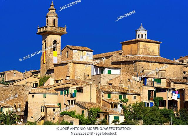 Valldemosa, Majorca, Serra de Tramuntana, World Heritage Site, Balearic Islands, Spain