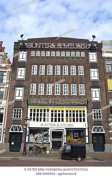 Gunters en Meuser Centrum, ironware shop, Egelantiersgracht, Jordaan, Amsterdam, The Netherlands