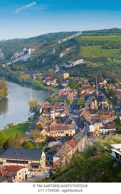 france, normandy, les andelys, chateau, gaillard, river, seine