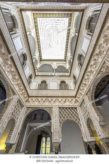 Alcázar Palace, Seville, Andalusia, Spain